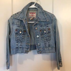 True Religion Denim Jacket Size Medium